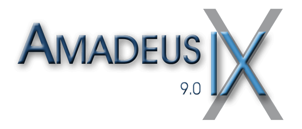 DATEX Amadeus 9 Logo